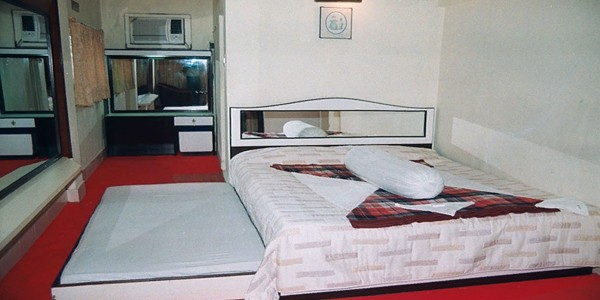 Triple Bed Non AC Ground Floor Room