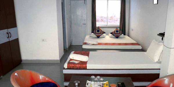 Deluxe Non-AC Triple Bed View Room
