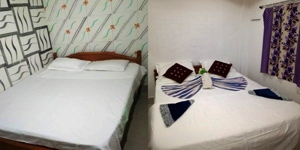 Deluxe AC Double Bed Share Bathroom